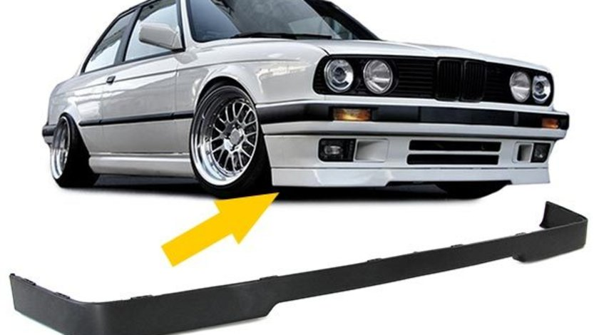 Adaos bara fata BMW E30 ( Lipp model IS) plastic ABS Negru