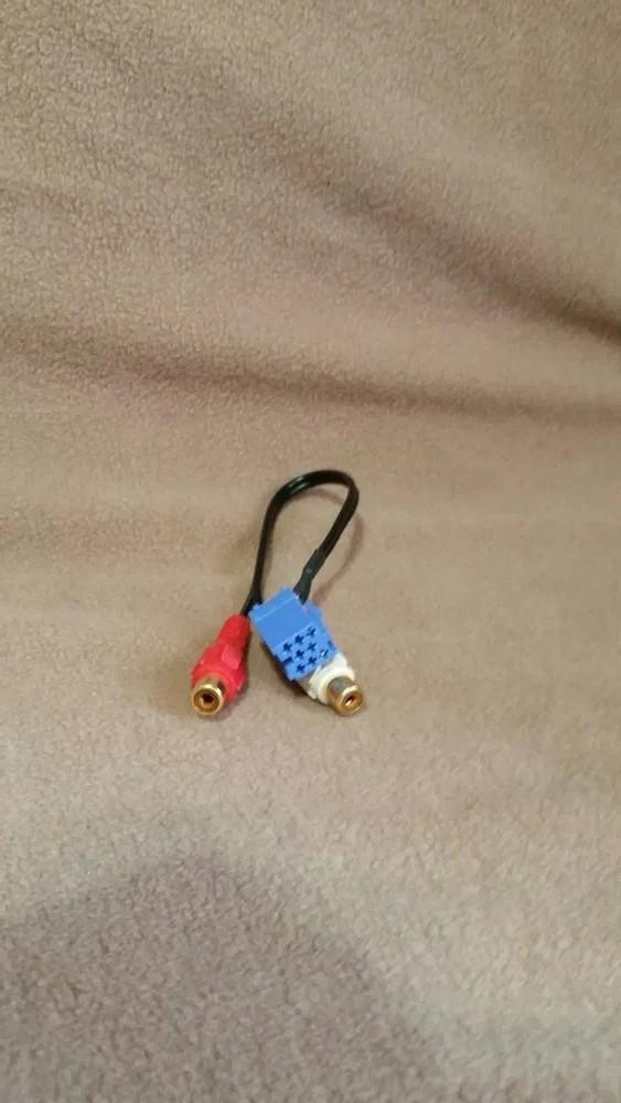 Adaptor auxiliar blaupunkt becker vdo grunding