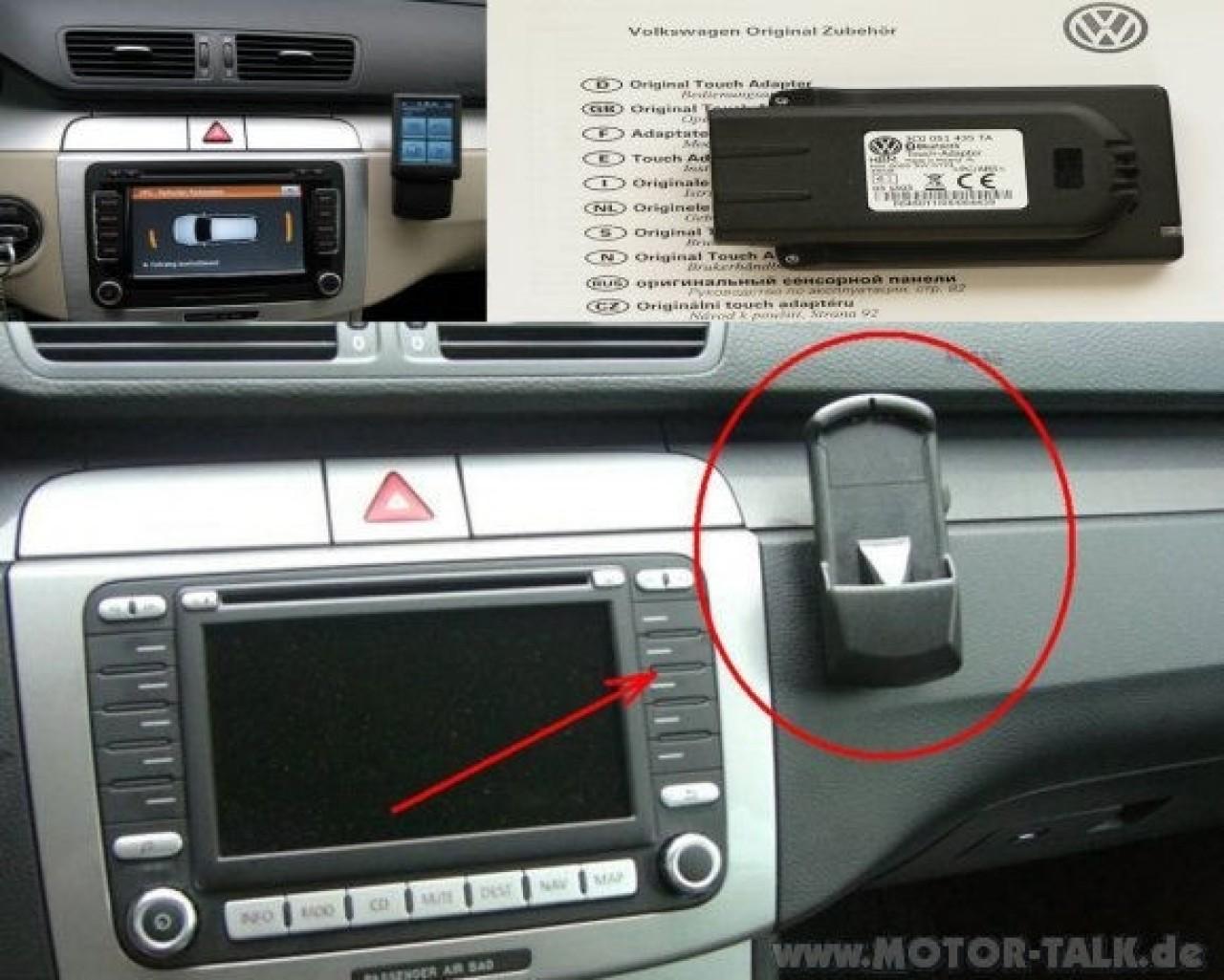 Adaptor BLUETOOTH Original Vw cu Touchscreen 3C0051435TA