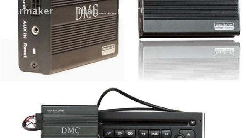 Adaptor / interfata mp3 USB Citroen si Peugeot