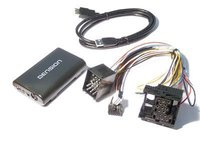 Adaptor USB iPod iPhone AUX-IN dedicat BMW E36 E46 E39 E38 X5 E53 Z3 Z8 Dension Gateway 300 GW33BM1