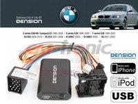 Adaptor USB, iPod, iPhone, AUX-IN dedicat BMW Seria 3 E36 E46 Seria 5 E39 Seria 7 E38 X5 E53 Z3 Z8