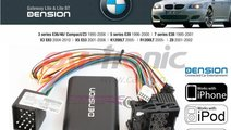 Adaptor USB, iPod, iPhone, AUX-IN dedicat BMW Seri...