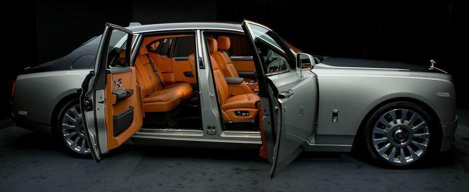 Adevarata limuzina suprema. IMAGINI REALE cu noul Rolls-Royce Phantom