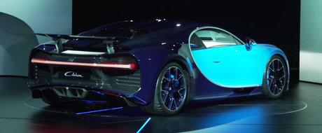 Adio, asteptare. Uite cum suna noul motor W16 de pe Bugatti Chiron