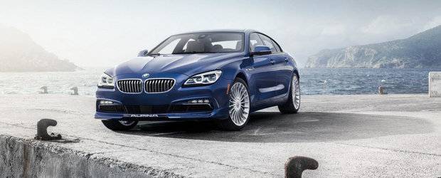 Adio, BMW M6: Noul Alpina B6 Gran Coupe are 600 CP si tractiune integrala!