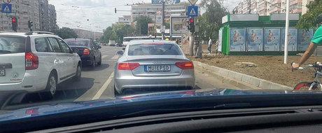 Adio M*IEPSD? Audi-ul cu numere personalizate cu dedicatie are interzis la circulatie in Romania?