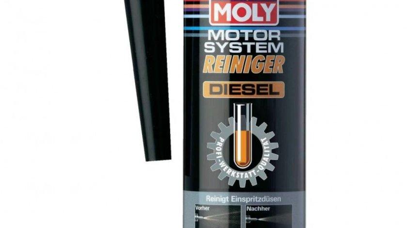 Aditiv motorina Liqui Moly pentru curatare injectoare Diesel 300ml protejeaza duzele imbunatateste pornirea AutoLux