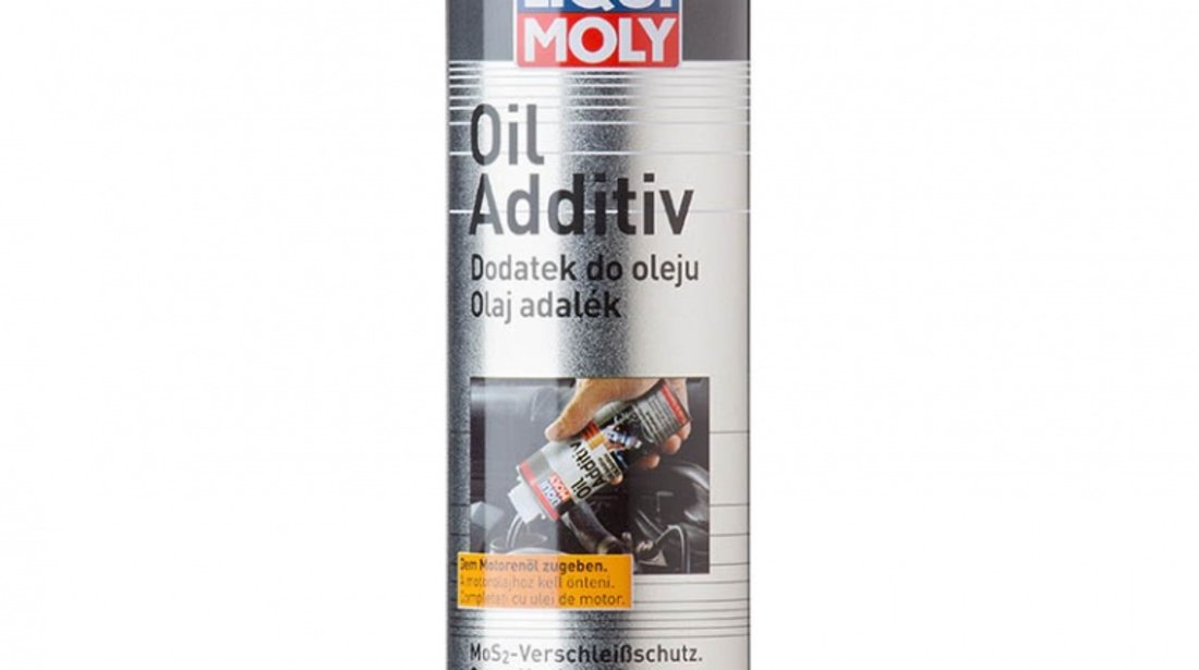 Aditiv Ulei Liqui Moly cu MoS2 300ml AutoLux