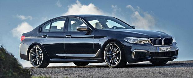 Admira din orice unghi noul BMW M550i xDrive, cea mai rapida Serie 5 de pana acum