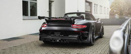 Admira in detaliu Porsche-ul 911 Turbo dus in 720 de cai de catre nemtii de la TechArt