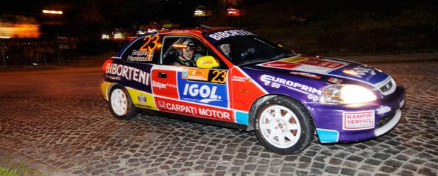Adrian Grigore/Marius Paunescu privesc cu optimism Raliului Clujului