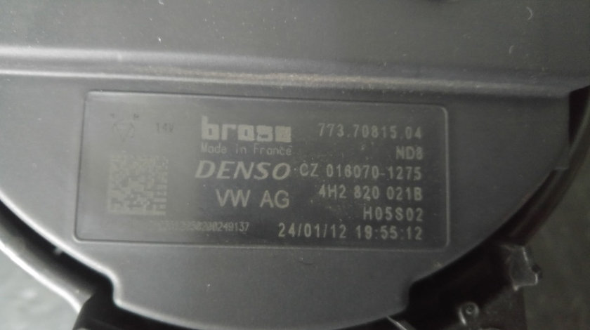Aeroterma audi a6 4g a7 a8 4h2820021b