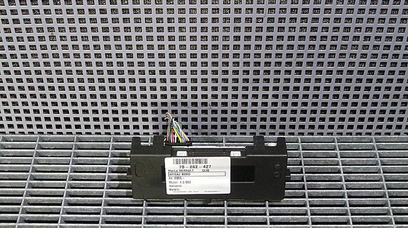 AFISAJ BORD RENAULT CLIO CLIO 1.5 DCI - (2005 2012)