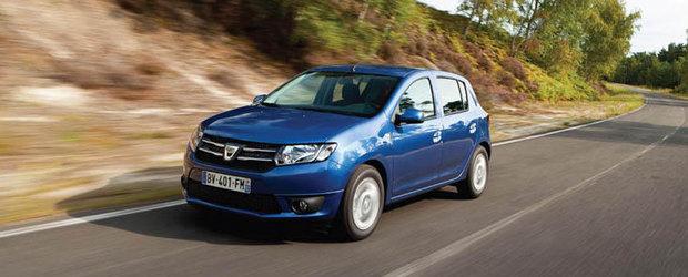 Afla cat va costa Dacia Sandero in Marea Britanie!