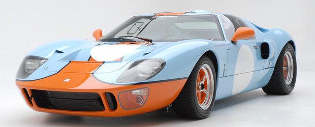Afla cu ce suma s-a vandut Ford-ul GT40 condus de Steve McQueen in 'Le Mans'!