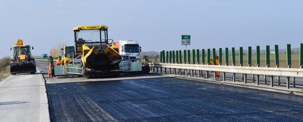 Ai drum spre Constanta? Autostrada A2 intra iar in reparatie pana la sfarsitul lunii mai