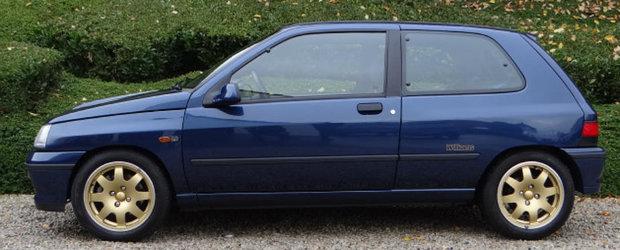 Ai fi putut afla ce insemna un hot-hatch in anii '90 daca acest Clio Williams nu ar fi fost acum rezervat