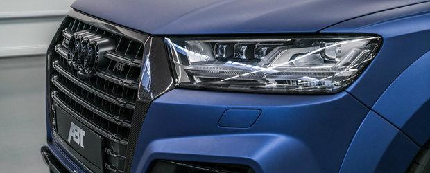 Ai grija sa nu il deochi. Cel mai tare Audi SQ7 al momentului vine de la ABT si arata absolut demential