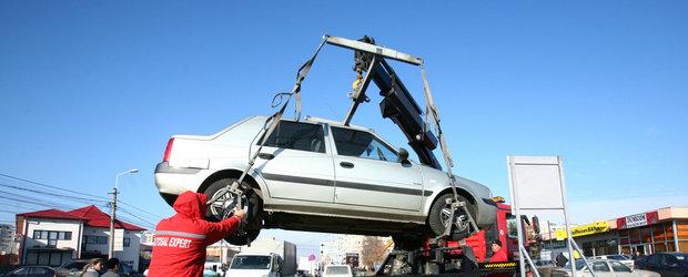 Ai grija unde parchezi! De azi incepe ridicarea masinilor parcate neregulamentar in Bucuresti