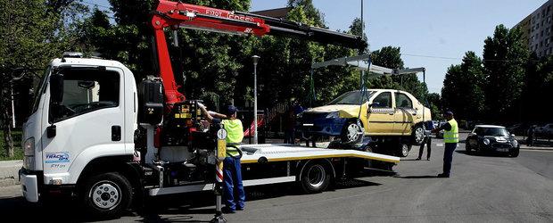 Ai grija unde parchezi! Legea care ii da dreptul Politiei Locale sa ridice masinile a trecut de Parlament