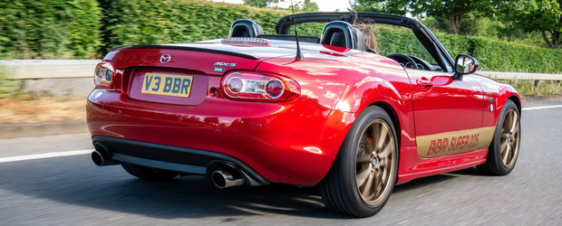 Ai o Mazda MX-5 mai veche si vrei mai multi cai putere? Te ajuta britanicii de la BBR