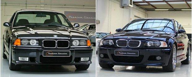 Ai putin peste 30.000 de euro la dispozitie. Ce cumperi, un BMW M3 E36 sau un BMW M3 E46?