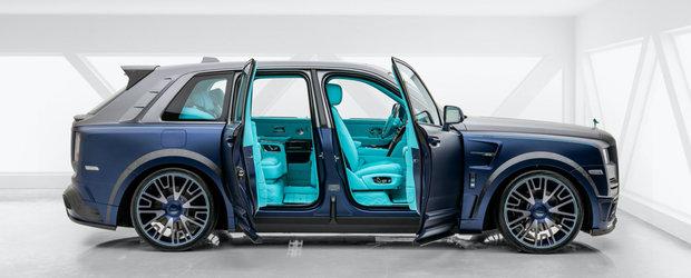 Ai un Rolls-Royce Cullinan si iti place turcoazul? Da-l pe mana celor de la Mansory si ar putea arata asa