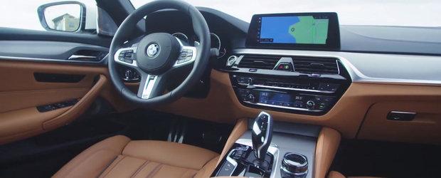 AICI este primul test video cu noul BMW Seria 5 G30.