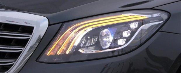 AICI sunt farurile viitorului Mercedes S-Class Facelift