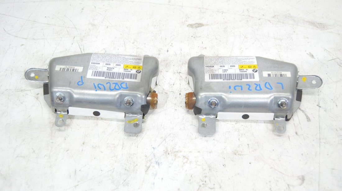 Airbag / Airbaguri usa stanga + dreapta Bmw Seria 6 E63 - E64