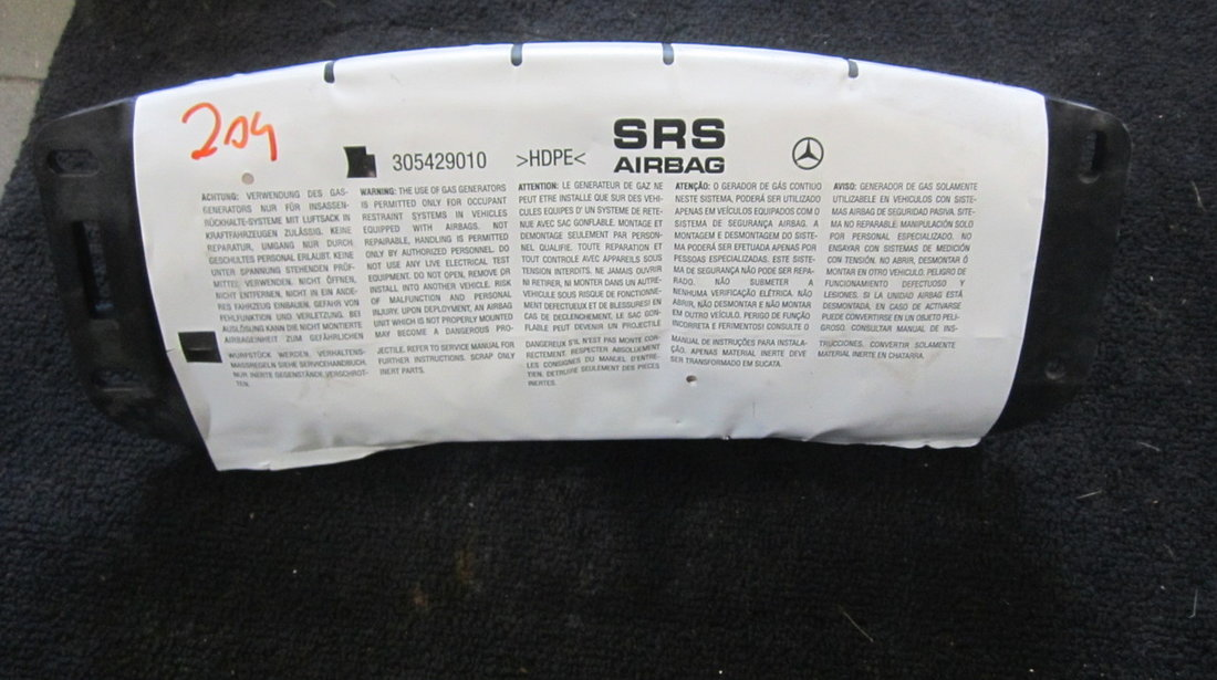 Airbag pasager Mercedes C-Class W204