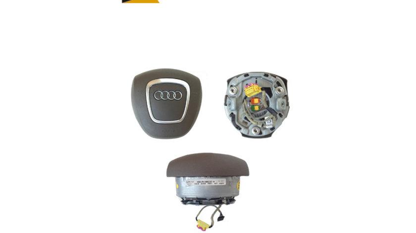 Airbag pentru volan cu 4 spite Audi A8 D3 4E an 2003 - 2010 cod 4E0880201AT