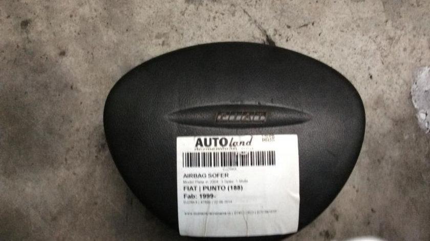 Airbag Sofer Model Pana in 2004, 3 Spite, 1 Mufa Fiat PUNTO 1999-2012