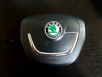 Airbag volan cod 3t0880201b skoda octavia II facelift 2008-2013
