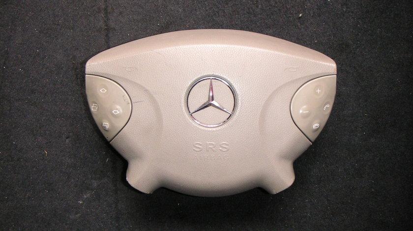 Airbag volan Mercedes E-Class W211, E220 CDI crem