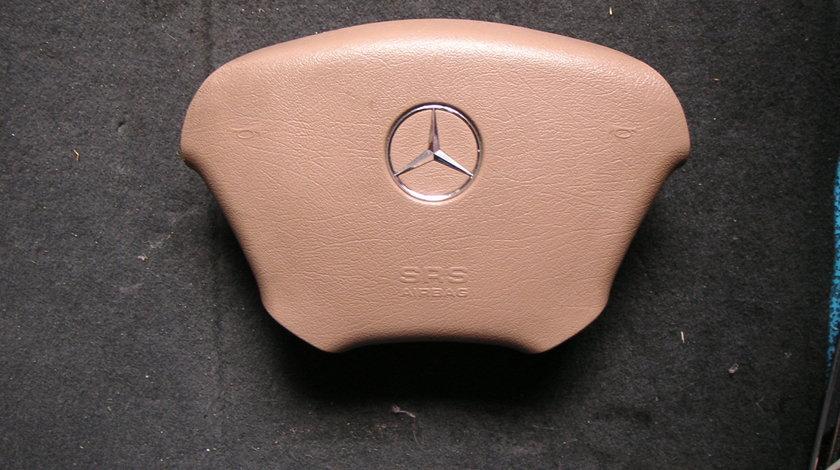 Airbag volan Mercedes ML, W163 (2001-2005) ML270 CDI culoare crem maro