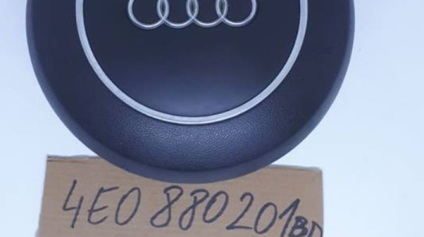 Airbag volan rotund, 4 spite Audi A8 4E D3 2003-2010 cod: 4E0880201BD