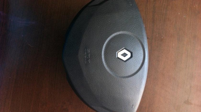 Airbag volana clio alb Renault Clio generatia 2 [1998 - 2005] Hatchback 3-usi 1.5 DCI MT (65 hp) II (BB0/1/2_ CB0/1/2_)