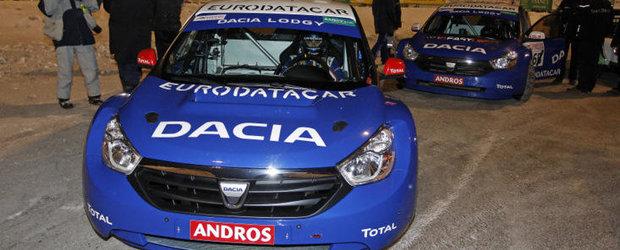 Alain Prost si Dacia Lodgy 'Glace' incununati de succes la Trofeul Andros!