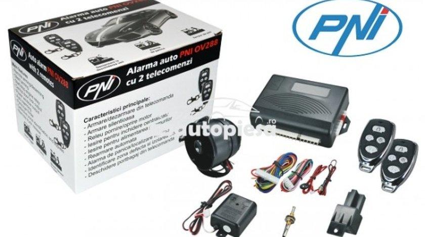 Alarma auto cu 2 telecomenzi si inchidere centralizata PNI PNI OV288 piesa NOUA