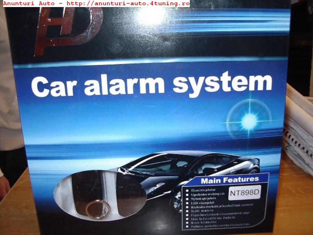 Alarma auto cu cheie tip briceag