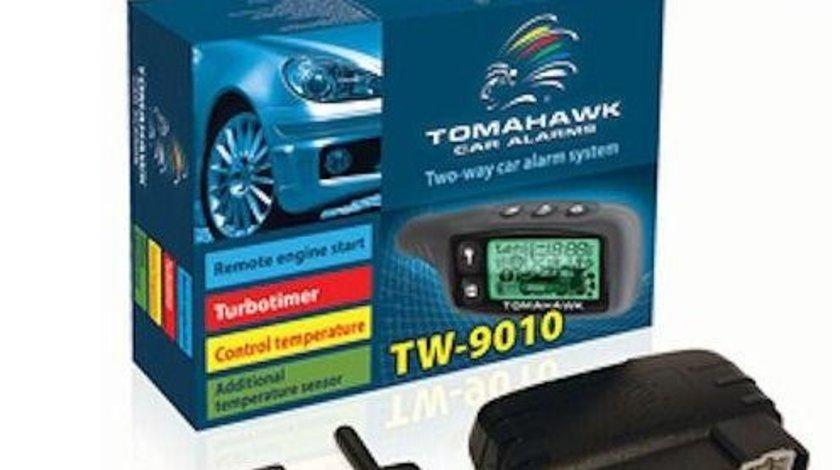 Alarma auto cu pornire motor TOMAHAWK TW- 9010