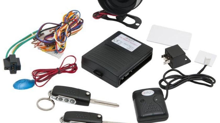 Alarma auto cu telecomenzi Chei briceag