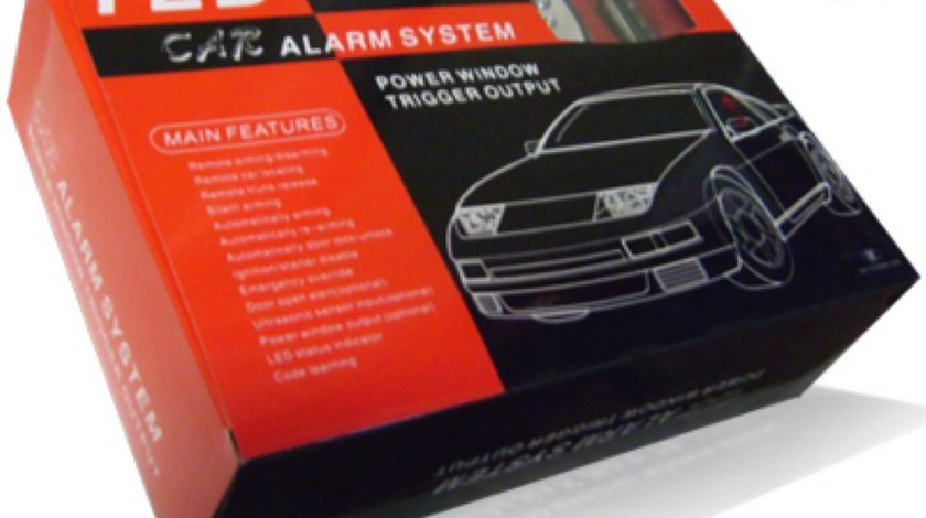 Alarma auto TLD 2 WAY