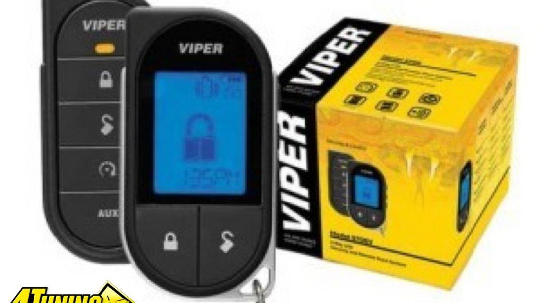 ALARMA AUTO VIPER 5706 RESPONDER LC3 SST Sistem de securitate cu pornirea motorului din telecomanda Telecomanda pager cu LCD Raza de actiune de pana la 1, 6 KM Garantie pe viata