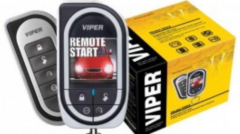 ALARMA Viper 5904 Responder HD PORNIRE MOTOR ECRAN COLOR MODEL 2012 GARANTIE PE VIATA 1750 LEI