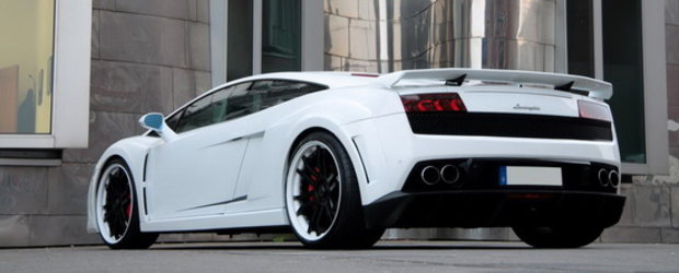 Albul este noul negru: Lamborghini Gallardo White by Anderson Germany