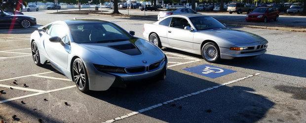 Alege-ti favoritul: BMW i8 sau BMW Seria 8?