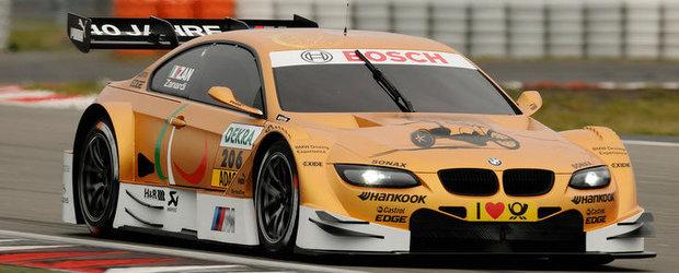 Alessandro Zanardi a testat noul BMW M3 DTM pe Nurburgring
